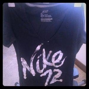 Ladies Nike fitted t shirt